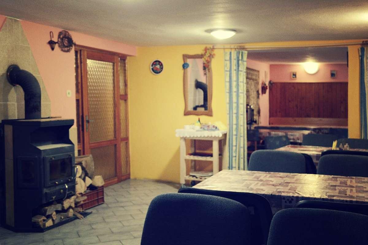 Horská chata Lada - společenská místnost